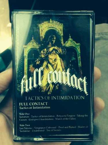 Full Contact - Tactics Of Intimidation (Tape / Kassette) US Import